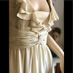 Quillaree Anthropologie Formal Silk Dress NWT $240
